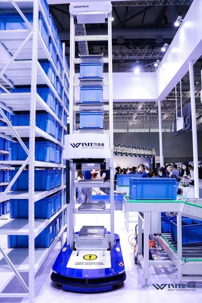 海柔创新携手万邑通亮相海外仓两会,树立跨境电商仓储自动化标杆